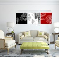 colorful tree modern 3 panels giclee canvas artwork flowe pictures photo painting on canvas wall art for home office decorations wall decor cheap office decorations