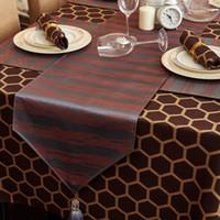 Wholesale IKEA European high grade geometric tablecloth table cloth tablecloth table cloth gift