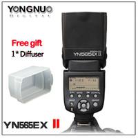 Wholesale G58 YONGNUO YN EXII YN EX II I TTL Flash Speedlite for Canon EOS T4i T3i T2i T1i Xsi Xti D D D D D D D