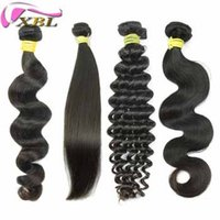 Wholesale Virgin Human Hair Style One Donor Inch Loose Wave Straight Deep Wave Body Wave Human Hair DHL