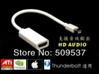 air free ide cable - Thunderbolt Cable Mini Displayport to HDMI Female adapter for Mac pro air Withe Cable Adapter L CM