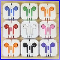 apple new headphones color - New For Android Phone Iphone S Plus Ipad Color Earphones In ear Headphone with Mic Hot Sale