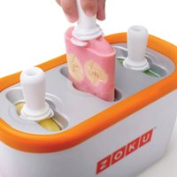 Wholesale 2016 Zoku Quick Pop Maker ZOKU Slush Shake Maker Home made Ice Cream Tools Ice Creammaker Creative Cup