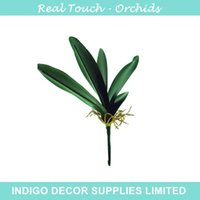 artificial orchids arrangements - Green Leaves Orchid Leaf Flower Arrangement Leaves Green Table Decoration Artificial Branches Greenery