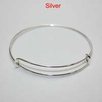 alloy gold wire - Good quality alex and ani bracelets expandable wire bangles for jewelry DIY women fast shipping