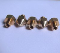Wholesale D Printer Accessories MM Filament Hotend M6 Extruder Head Nozzle For Ultimaker mm Mixed Sizes