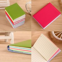 Wholesale Stationery sheets Pocket Notebooks Candy Color Mini Steno Notedpad cm x cm quot x quot Memo Journal Notes