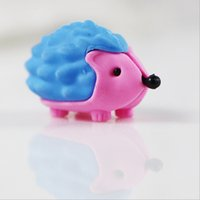 animal eraser tops - New Arrival Eco friendly Material Animal Fantastic Pencil Eraser for Children Top Design Eraser for Kid