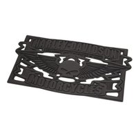 Wholesale Winged Skull Entry Mat