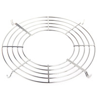 Wholesale New Stainless Steam Rack Three hook Design Semicircular Steam Tray Pot Holder Insulation Lek Oil Rack Cooking Tool