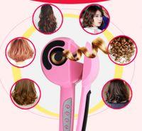 Électronique Beauté Style de cheveux Hot Sale Private Label Créez votre propre marque LCD Hair Styler Curl Rotation Auto Magic Hair Curler