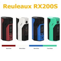 Wholesale Newest Wismec Reuleaux RX200S Mod improved inch OLED Screen Reuleaux RX S RX200W Mod with Upgradeable Firmware RX200S Orginal