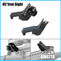 Wholesale KINSTTA Tactical AR Front Rear Degree Rapid Transition BUIS Backup Iron Sight Fit mm Picatinny rail