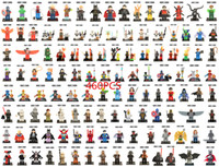 Wholesale Star wars Super Heroes The Avengers Iron Man Deadpool Hulk Batman superman Captain America Wolverine Thor Building Blocks bricks