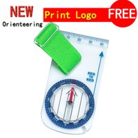 Wholesale Outdoor camp orienteering thumb compass for the beginer orienteering CH FS