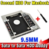 apple macbook pro enclosures - T mm Second HDD Caddy nd SATA quot Hard Disk Drive SSD Enclosure for Apple Macbook Pro A1278 A1286 A1297 CD ROM Bay