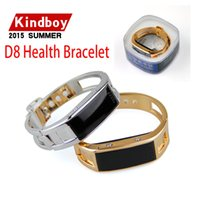 band fuel - 2016 Bluetooth SmartWatch D8 Health Bracelet Wristband Fuel Band for iPhone Samsung Android Phones D8 for lady women smart watch