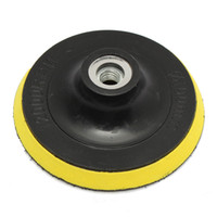 angle grinder polisher - 4 quot mm Selfadhesive disc Brushed Polisher Bonnet Backing Pad Angle Grinder Polishing Disk Wheel Sand Paper Wool Floppy Discs