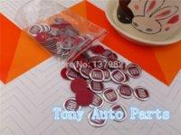 auto parts sticker lot - 14mm D FIAT Car logo Auto Badge Sticker Key Fob Emblem Auto accessories badge parts