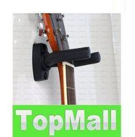 Wholesale DHL Guitar Stand Wall Hanger Hold Holder Rack Hook Mounting screws LLFA29