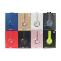 Wholesale Refurbished Beats Solo Wireless Bluetooth Headphone Active Collection HD Stereo Wireless Mobile Cellphone Solo Headset with retail box