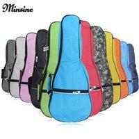 backpack parts - Colorful Waterproof Soprano Concert Ukulele Bag Case Backpack Inch Ukelele Beige Mini Guitar Accessories Parts Gig