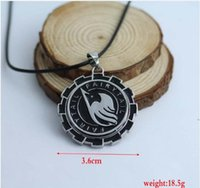 animals association - New Statement Fairy Tail Association Logo Freedom Wing Gear Rotatable Pendant Necklace Cosplay