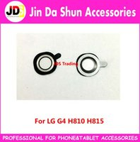 Wholesale G4 Camera Glass For LG G4 H810 H811 H815 F500 VS986 Rear Camera Glass Lens Cover Circle Adhesive Sticker Housing Part