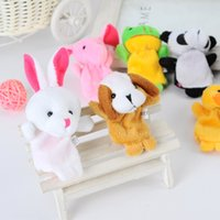 Wholesale Baby Plush Toy Finger Puppets Talking Props Animal Style Toys Educational Baby Toys