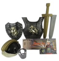 Wholesale Armor Set Medieval Knight Costume Set Child Chirstmas Toddler Costumes Small World Toys Imaginative Play