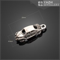 antique race car - racing car alloy charm pendant Antique silver DIY jewelry accessories SH4675 DIY jewelry Findings Components