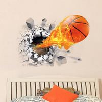 basketball wall decor - Home Wall Removable Stickers Basketball Kids Decals Art Decor X CM