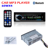 Wholesale NEW V Bluetooth Car Stereo FM radio MP3 Audio Player V USB Charger APE FLAC MP3 FM SD AUX IN Car Electronics In Dash DIN