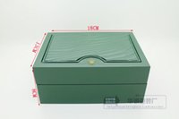Wholesale Luxury Watch Boxes Mens For Watch Box Original Wooden Inner Outer Woman s Men Watches Boxes Papers