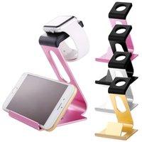 Relojes de los hombres titular Baratos-Apple Seguir Stand, mujeres / hombres de resina ABS de color de rosa caliente de múltiples funciones de carga del soporte del / de carga del muelle del / de dispositivos multi Organizador f