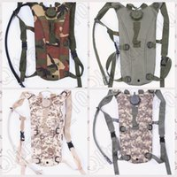 Wholesale 400PCS LJJM70 Outdoor Waterproof Bike Cycling Saddle Bag Foldable Water Pack Bag Soldier Camouflage Bag Sport Bag