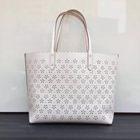 best shopping bag designs - best New Brand Design Retro carved hollow noble cow Leather Women lady Handbag Messenger Bag Shoulder Bag brand C big shopping bag F37650