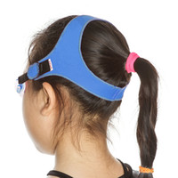 Wholesale TFY Unisex Swimming Goggles with Soft Adjustable Strap for Kids Pink Blue Camo