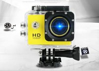 Wholesale SJ4000 Mini DV A9 Inch Digtal Camcorder SJ Gopro P Waterproof Sport Camera Full HD Action Camera for DHL