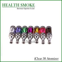 Wholesale Hot Genuine innokin iclear tank dual coil colorful kit with rotatable drip tip atomizer