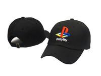 Wholesale Pretty boy Sony Playstation Baseball Dad Cap Hat Snapback Streetwear Hip Hop New