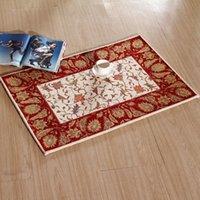 bath and toilets - European Carpets Tapetes Famous Brand Door Mat Floor Mat Red Color Doormat Anti slip Carpet Acrylic Carpet For Bath And Toilet cm