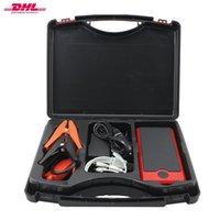 Wholesale Real mAh Portable Car Jump Starter High Power Capacity Engine Multi Function Car Power Bank Free DHL MC S18
