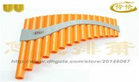 Wholesale 15 tubes Key G professional type panflute famous brand in China