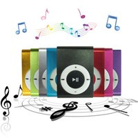 Wholesale Sport MP3 Player High Quality MINI Clip With Micro TF SD Card Slot sports mini MP3 Music Player USB Cable earphone