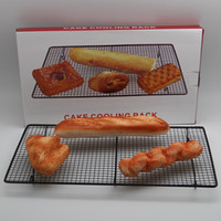 baking racks - Latest High quality metal cake cookie biscuits bread cooling rack net mat holder dry cooler for home cooking baking supplies