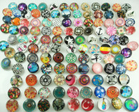 Wholesale fashion Mixed high quality alloy Chunk Snap Button charm for NOOSA charm mm mix Series