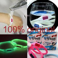Wholesale Mouse Trap Hha383 Sport Luminous Waterproof Silicon Mosquito Repellent Band Bracelets Anti Pure Natural Baby Wristband Wenwen Ring