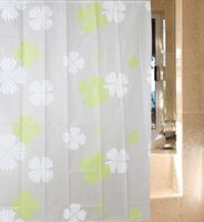 Wholesale 180x180cm x200cm Hotel shower curtain wateproof bathroom drapes living room valance