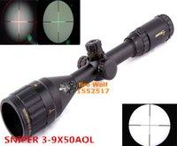 airsoft gun targets - 2016 NEW Sight Telescopic SNIPER X50 Red Dot Riflescope For Airsoft Gun Outdoor Optics Sniper TARGET Gun Sigh